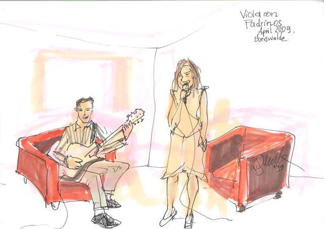 Jazzduo Jazz-Duo Viola Woigk & Janko Lauenberger, Berlin, Musikduo für Feier, Fest,Veranstaltung