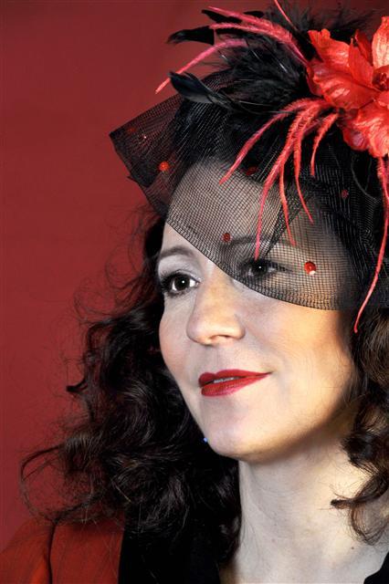 Jazz Vocalist Singer Viola Woigk from Swingband Viola con Padrinos Germany D Berlin
